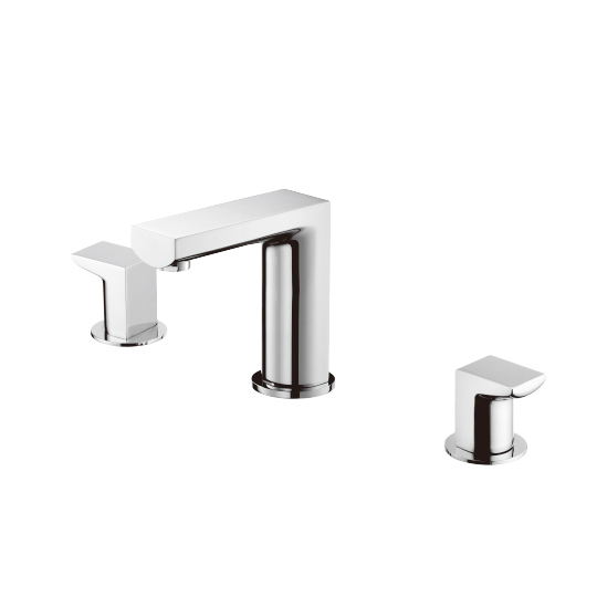 Two-Handle Basin Faucet