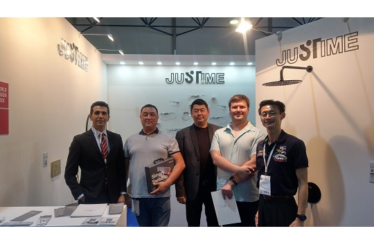 JUSTIME attended Aquatherm Almaty 2019