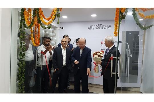 JUSTIME展示中心在印度德里開業